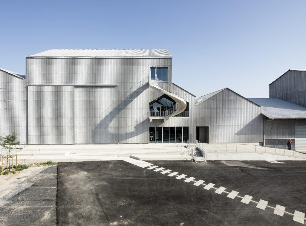 Le CNAC 06 - Friches + Culturel - Caractère Spécial Matthieu Poitevin Architecture