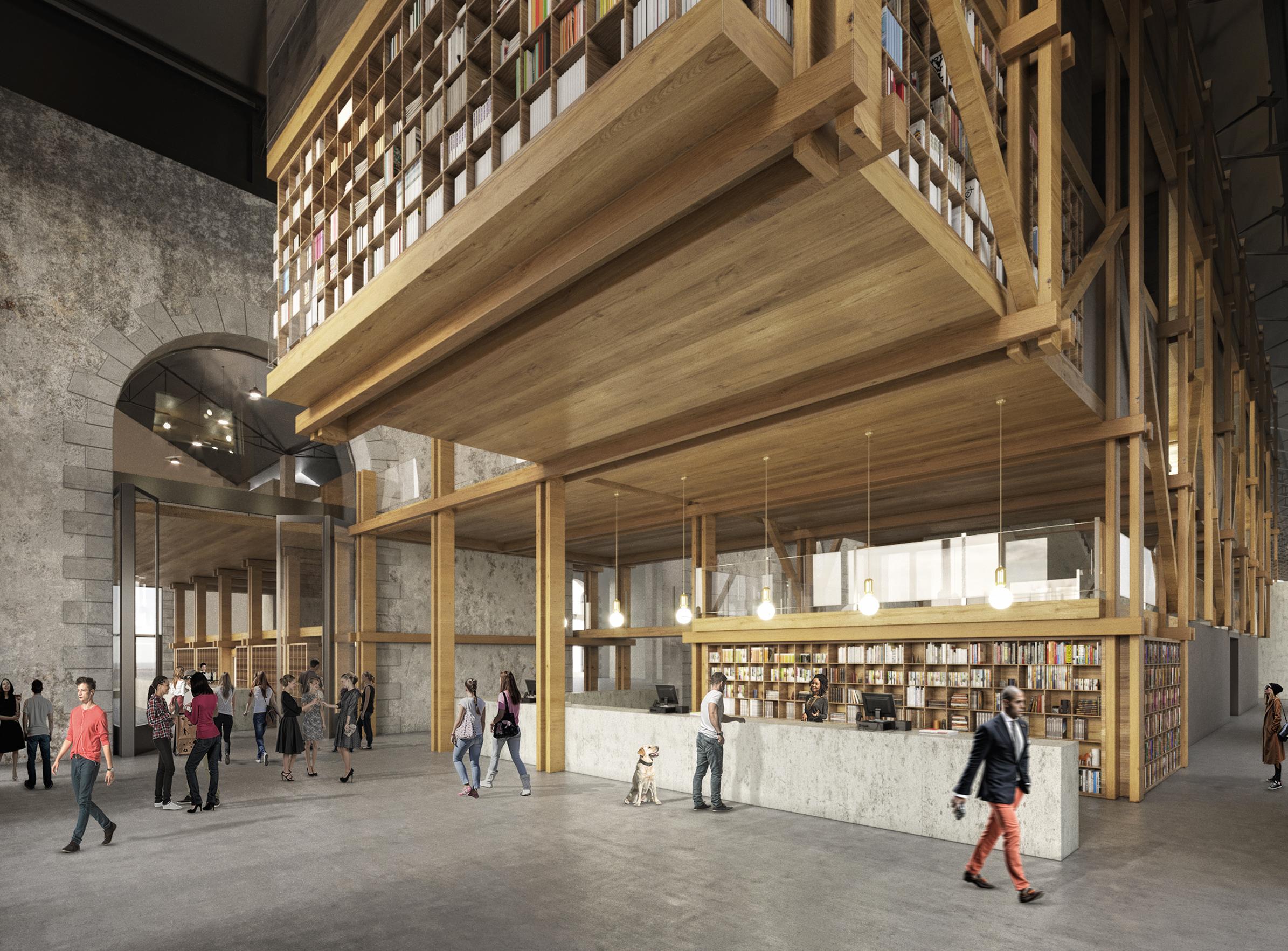 Le fourneau 00 - Friches + Culturel - Caractère Spécial - Matthieu poitevin Architecture
