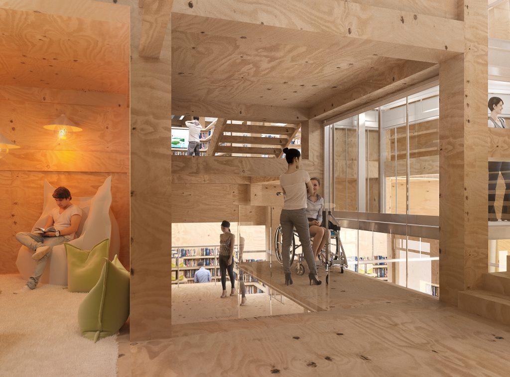 La Maison BSI 02 - Friches + Culturel - Caractère Spécial - Matthieu Poitevin Architecture