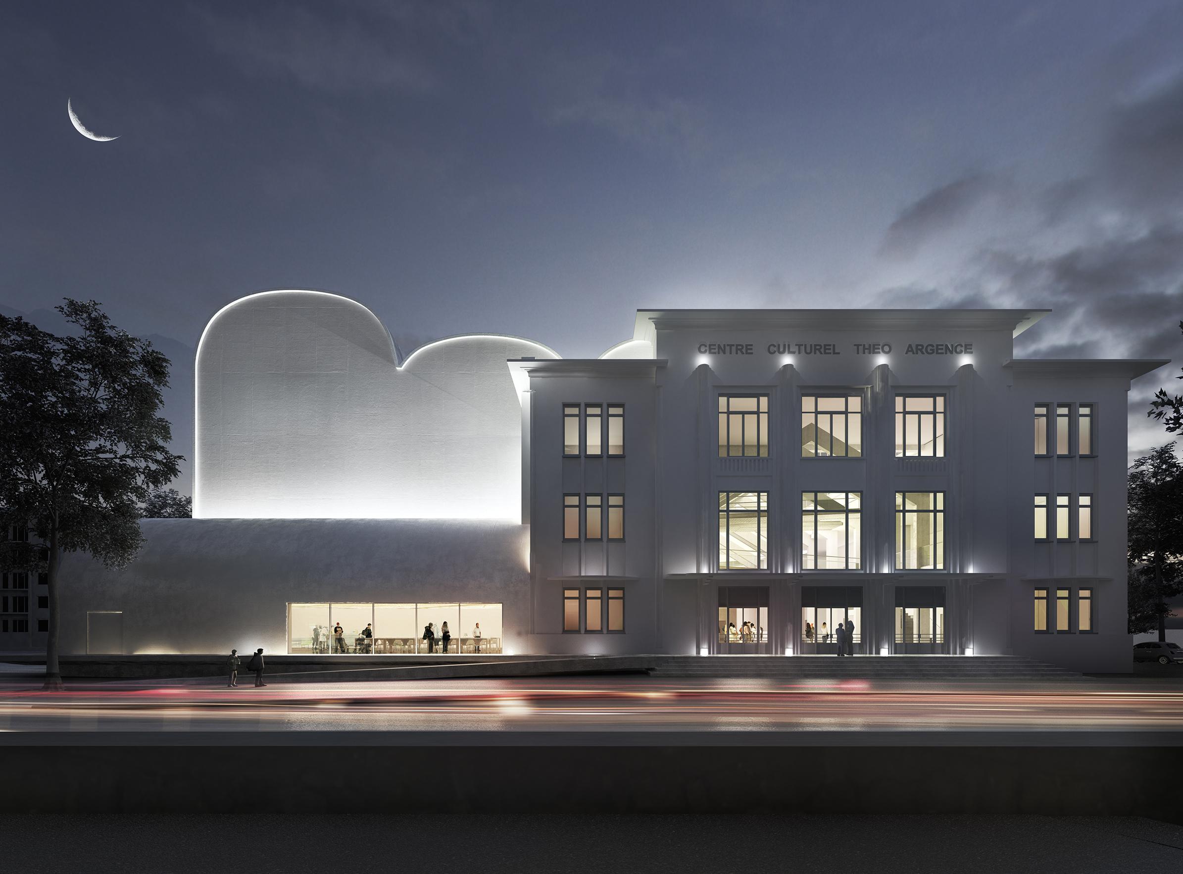 Théâtre Théo Argence - 02 - Friches + Culturel - Caractère Spécial - Matthieu Poitevin Architecture