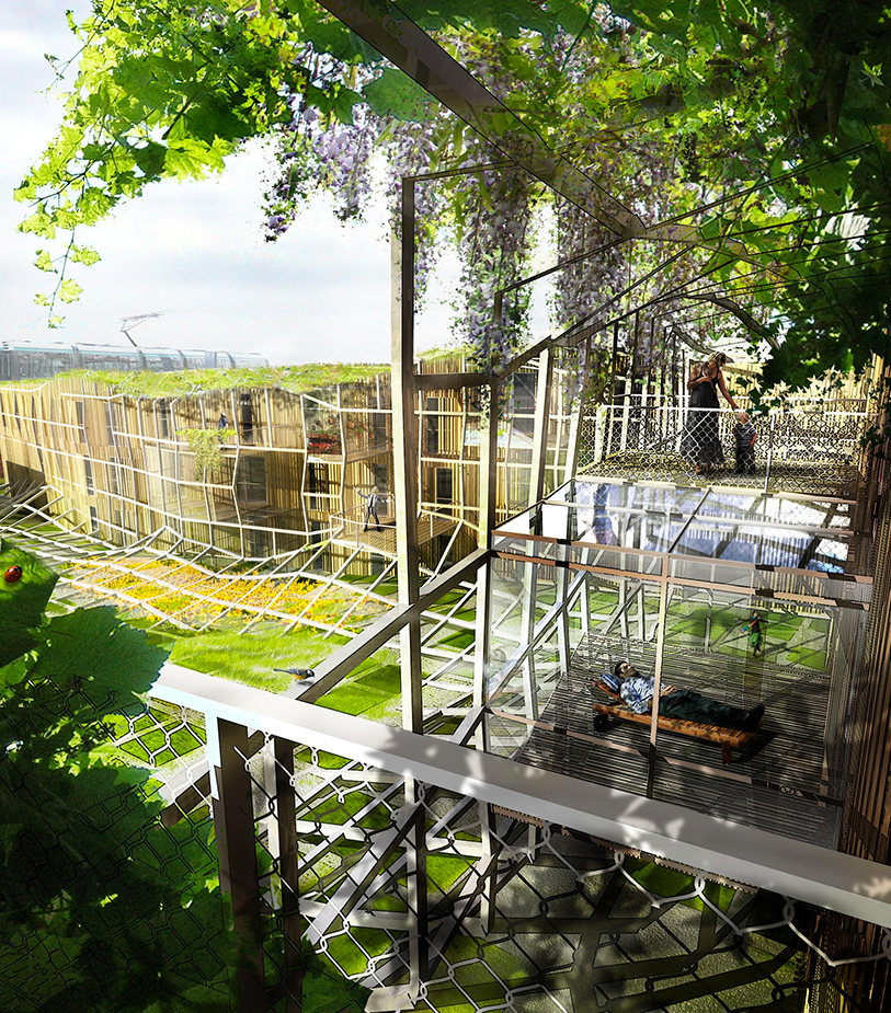Bichat Temple - Logements - Caractère Spécial - Matthieu Poitevin Architecture