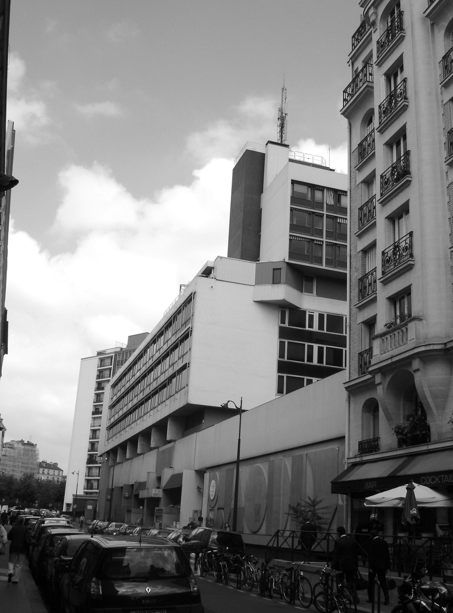 Palazzo Bercy - 01 - Logements - Caractère Spécial - Matthieu Poitevin Architecture
