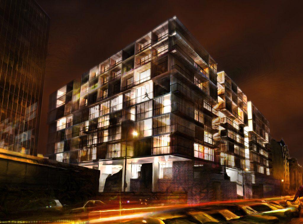 Palazzo Bercy - 03 - Logements - Caractère Spécial - Matthieu Poitevin Architecture