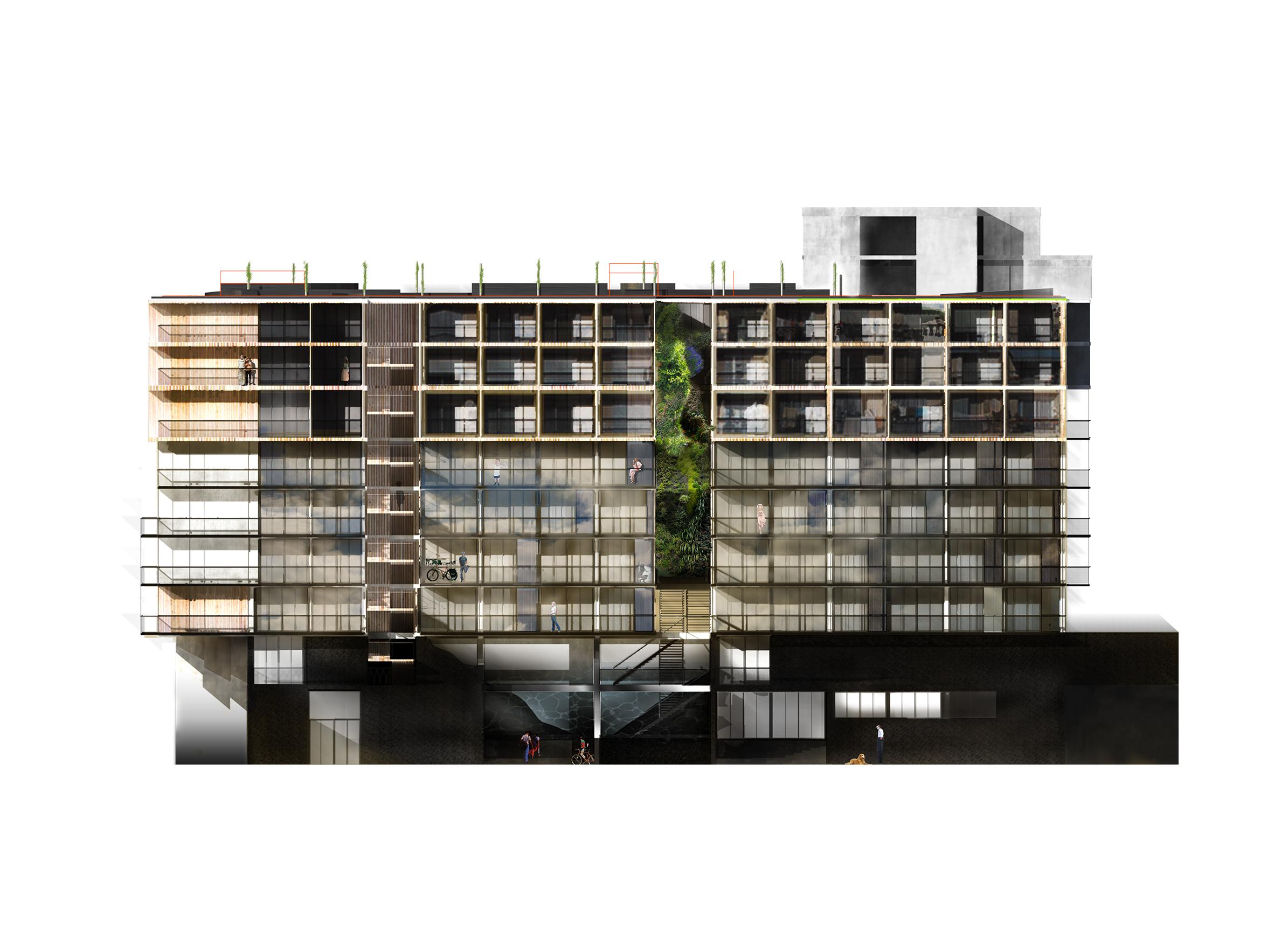 Palazzo Bercy - 04 - Logements - Caractère Spécial - Matthieu Poitevin Architecture
