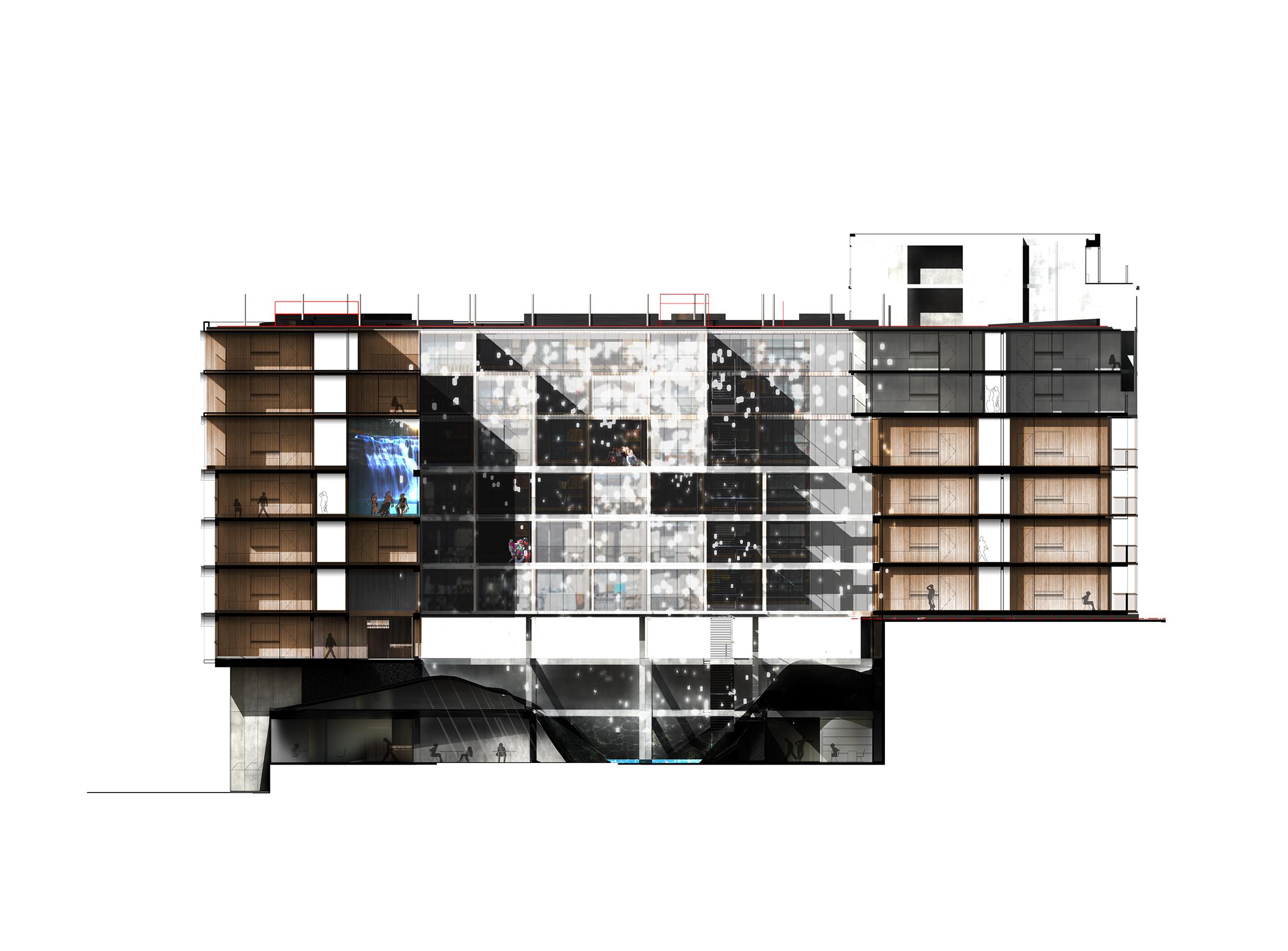 Palazzo Bercy - 05 - Logements - Caractère Spécial - Matthieu Poitevin Architecture