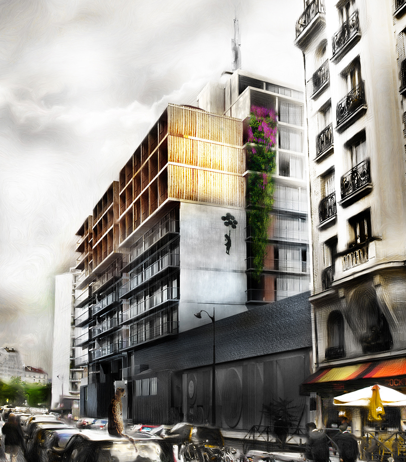 Palazzo Bercy - Logements - Caractère Spécial - Matthieu Poitevin Architecture