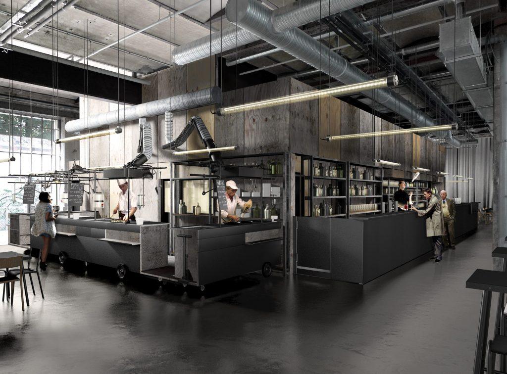 Grandes Tables 104 - 02 - Équipements Bureau - Caractère Spécial - Matthieu Poitevin Architecture