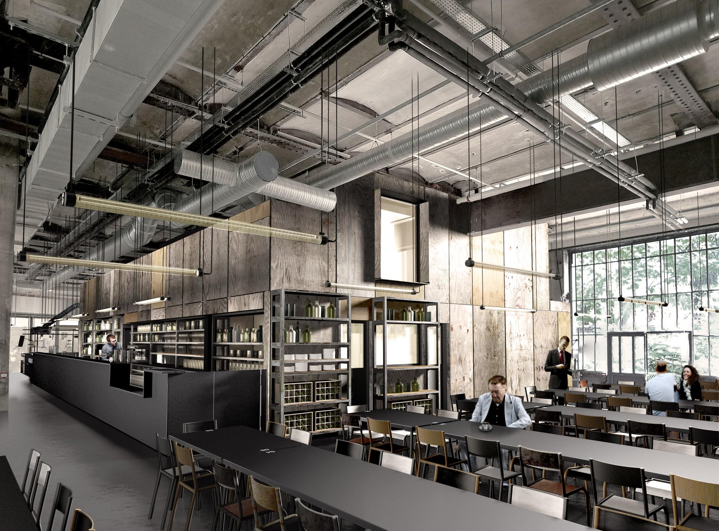 Grandes Tables 104 - 04 - Équipements Bureau - Caractère Spécial - Matthieu Poitevin Architecture