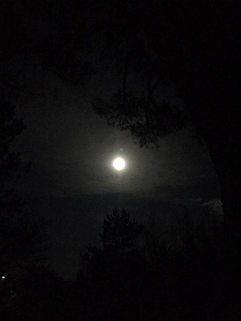 La lune  - Caractère Spécial Architecture