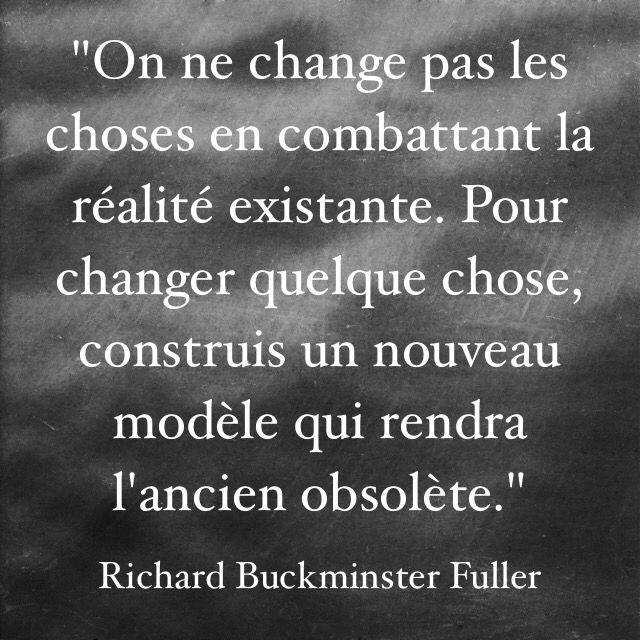 Citation Buckminster Fuller - Caractère Spécial Architecture