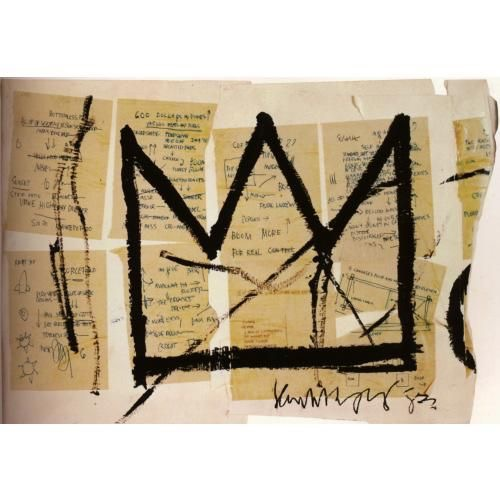 Couronne Basquiat - Caractère Spécial Architecture