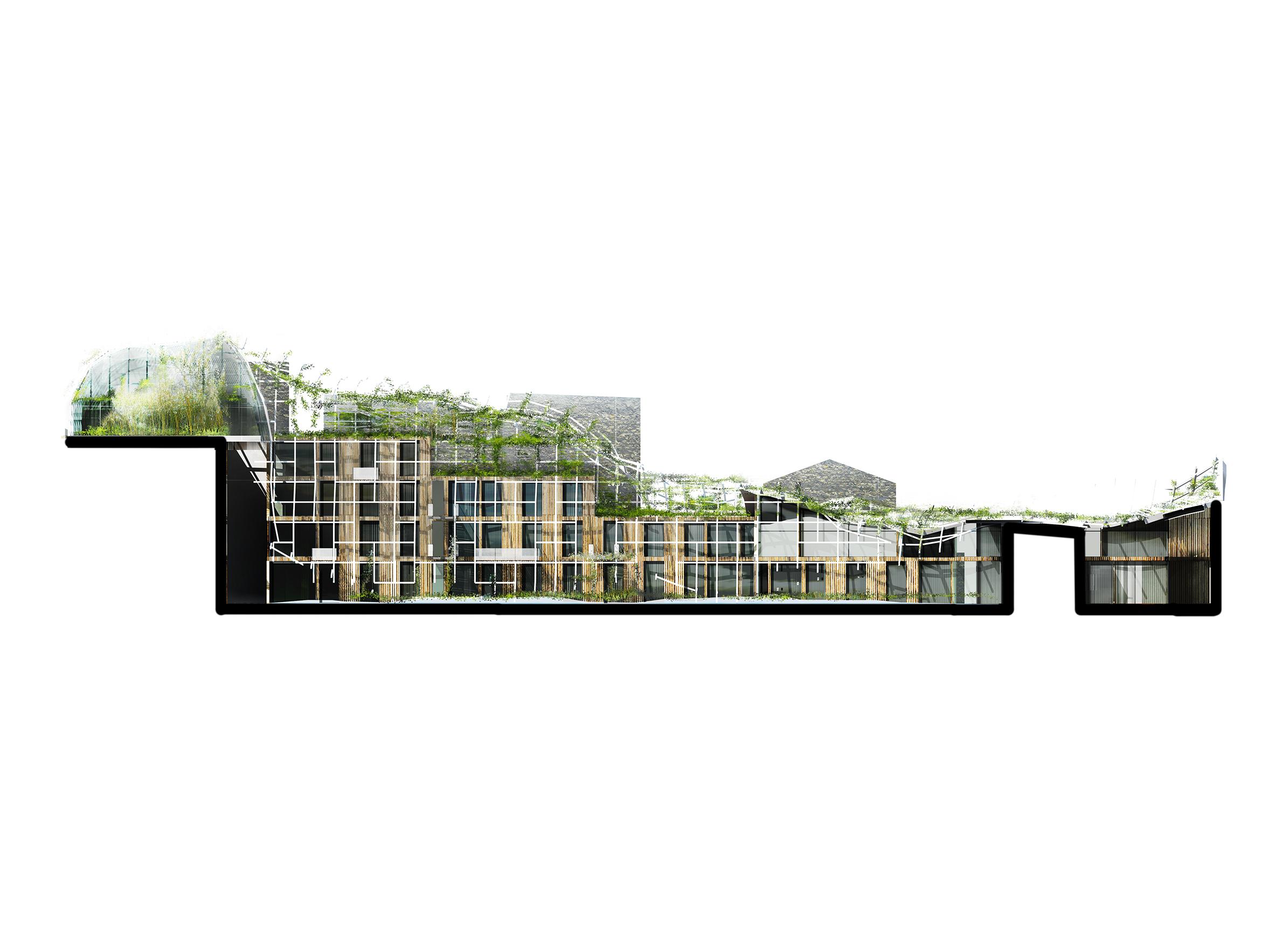 Bichat Temple - 03 - Logements - Caractère Spécial - Matthieu Poitevin Architecture