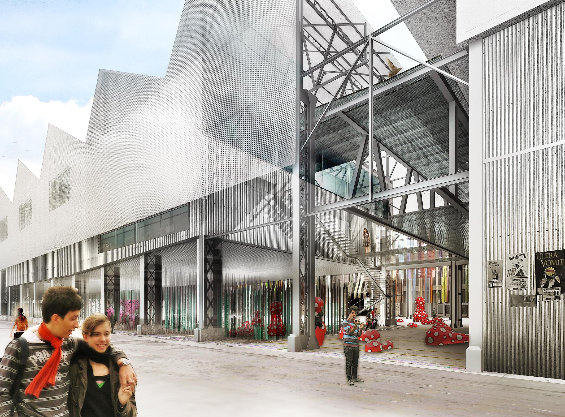 Halles Alstom - 01 - Équipements Bureau - Caractère Spécial - Matthieu Poitevin Architecture
