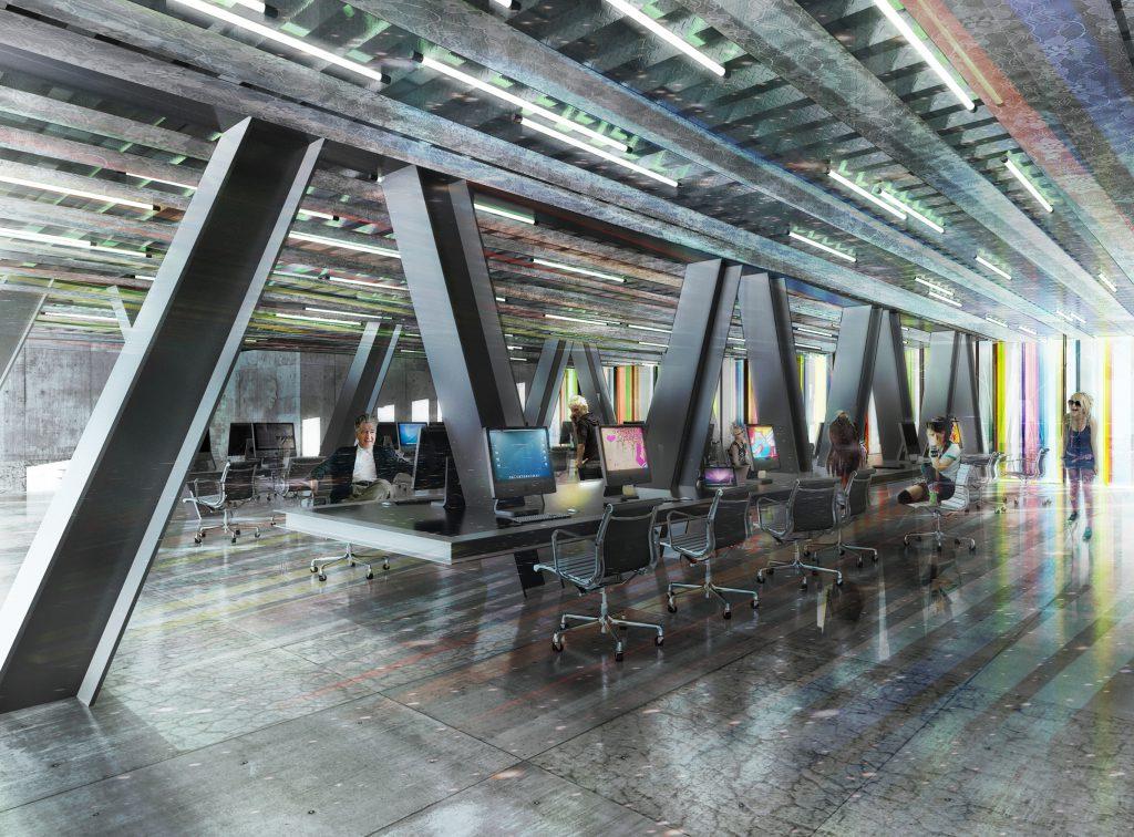 Halles Alstom - 02 - Équipements Bureau - Caractère Spécial - Matthieu Poitevin Architecture