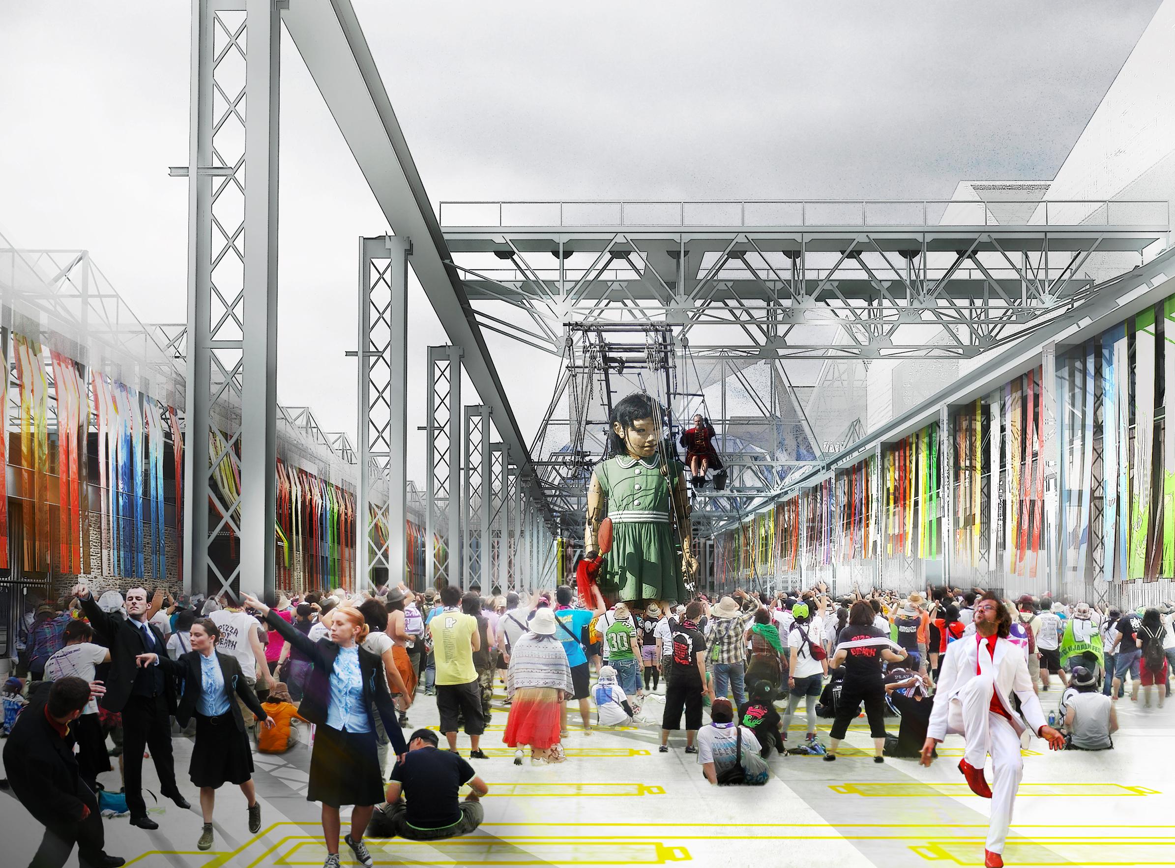 Halles Alstom - 03 - Équipements Bureau - Caractère Spécial - Matthieu Poitevin Architecture