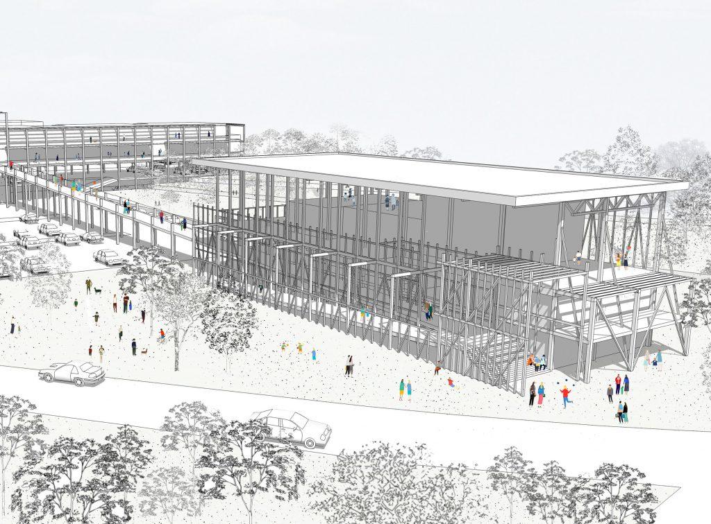 Le Jardin des ombres - 01 - Équipements Bureau - Caractère Spécial - Matthieu Poitevin Architecture