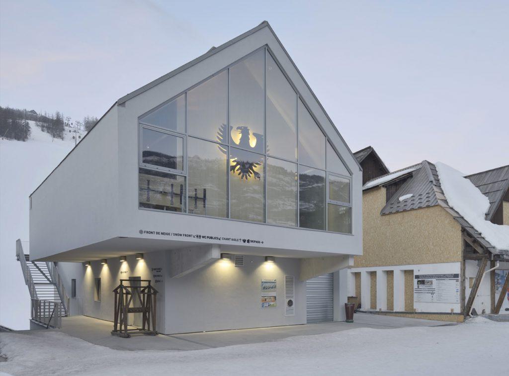 La Maison Blanche - 02 - Équipements + Bureau - Caractère Spécial - Matthieu Poitevin Architecture