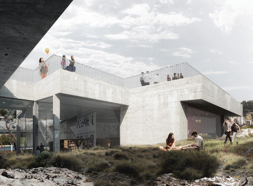 Médiathèque de septèmes - 01 - Équipements Bureau - Caractère Spécial - Matthieu Poitevin Architecture