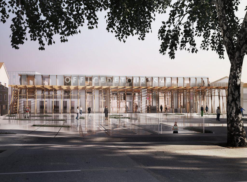 Office du tourisme Arles - 01 - Équipements Bureau - Caractère Spécial - Matthieu Poitevin Architecture