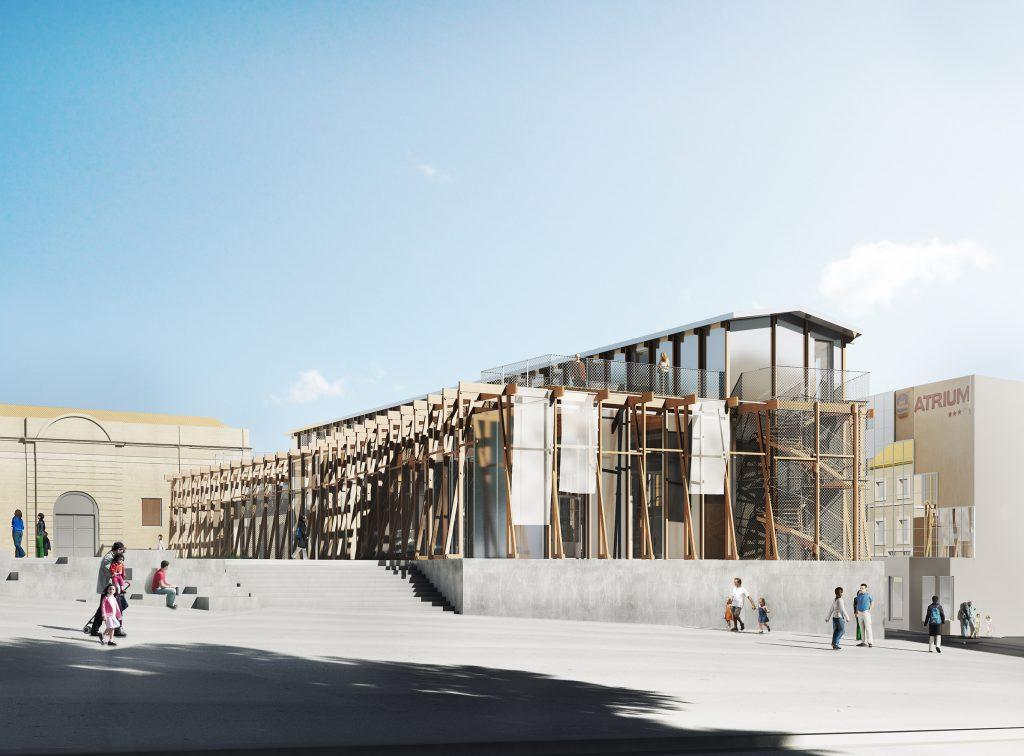 Office du tourisme Arles - 02 - Équipements Bureau - Caractère Spécial - Matthieu Poitevin Architecture