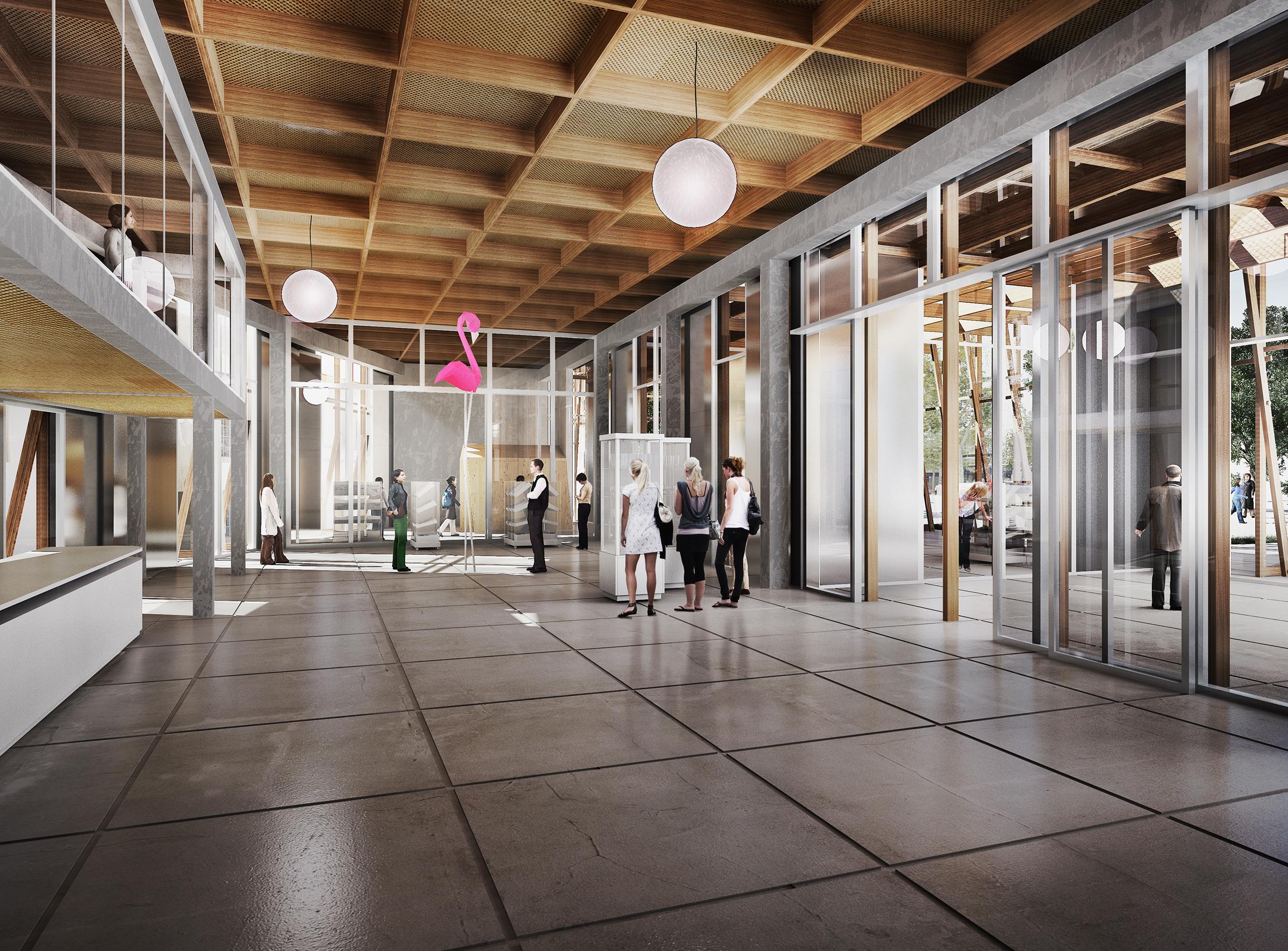 Office du tourisme Arles - 03 - Équipements Bureau - Caractère Spécial - Matthieu Poitevin Architecture