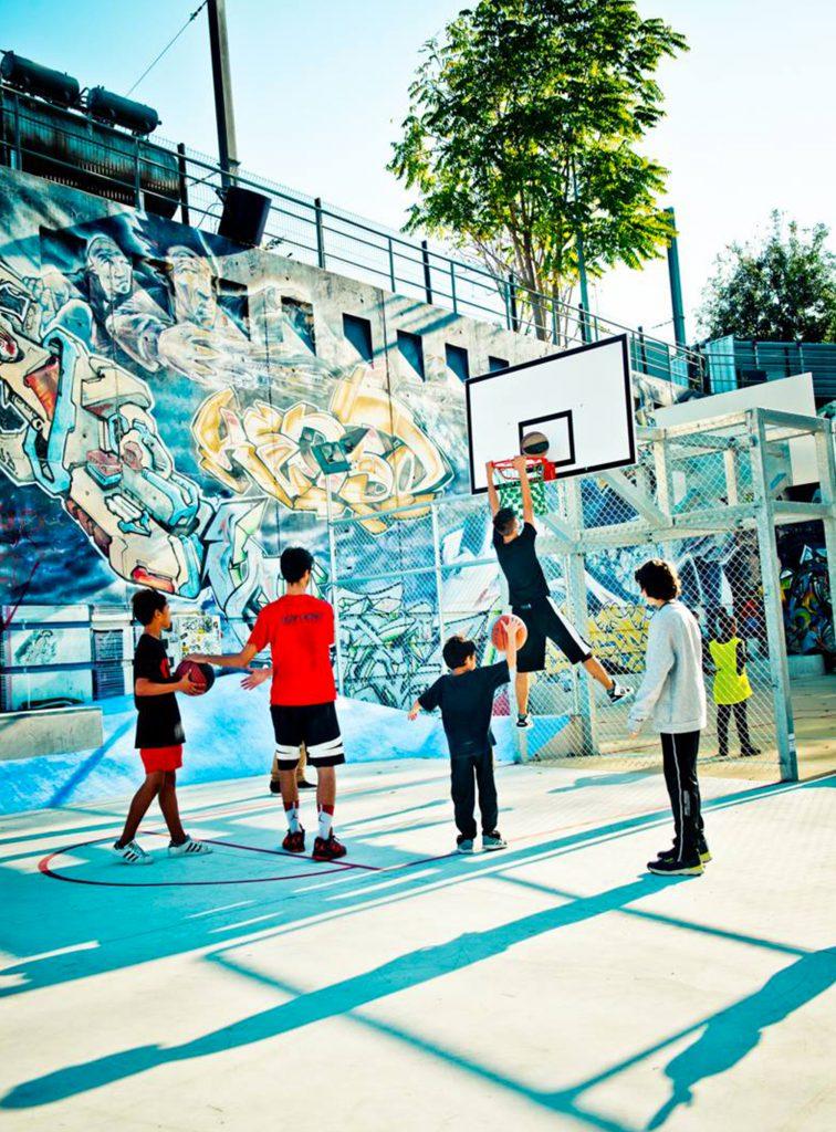 La Friche - Le Playground - 02 - Caractère Spécial - Matthieu poitevin Architecture