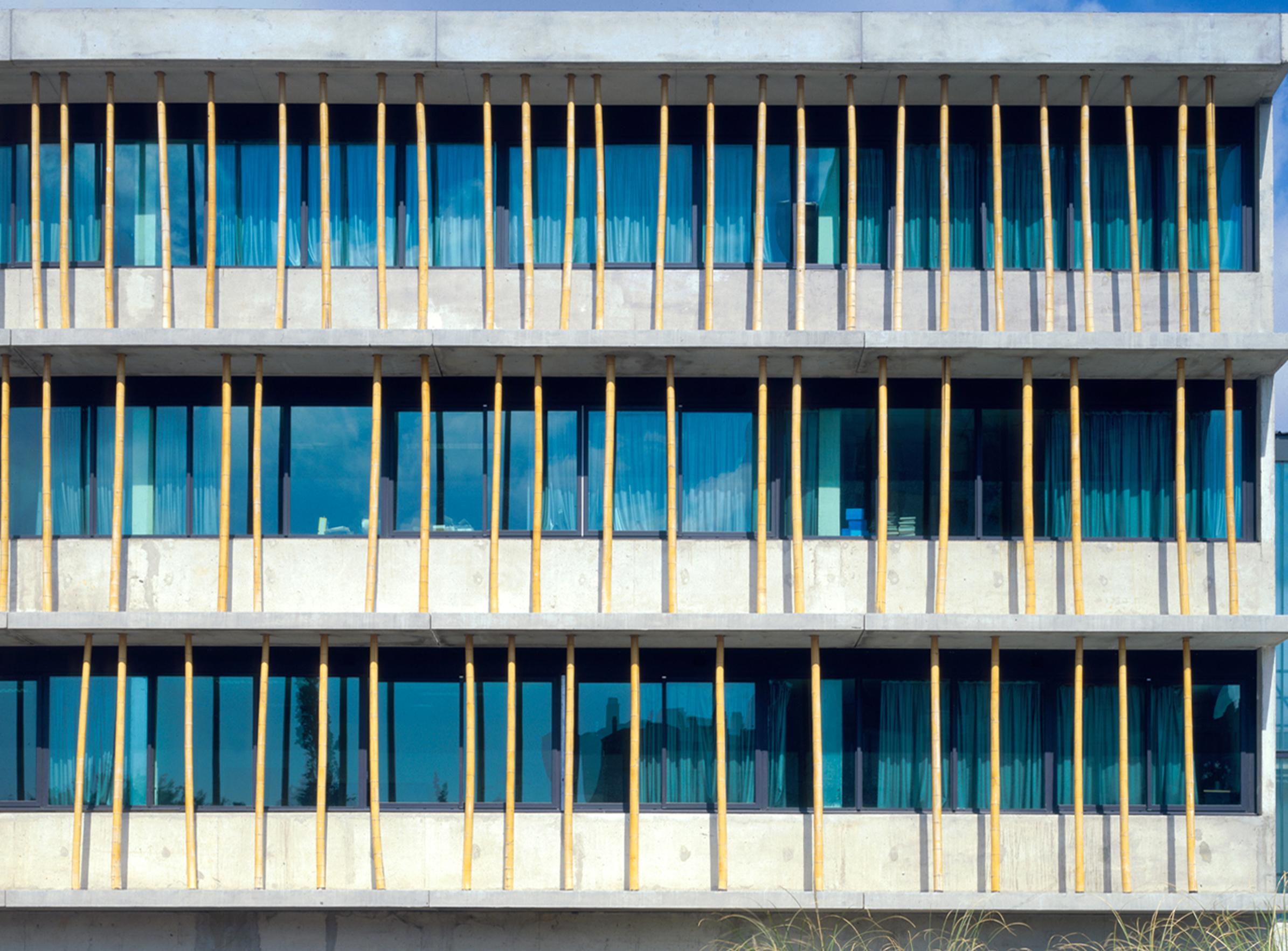 Collège Renoir Rostand 02 - Équipements Bureau - Caractère Spécial - Matthieu Poitevin Architecture