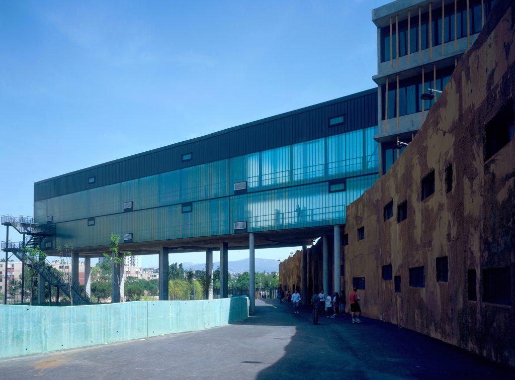 Collège Renoir Rostand 03 - Équipements Bureau - Caractère Spécial - Matthieu Poitevin Architecture