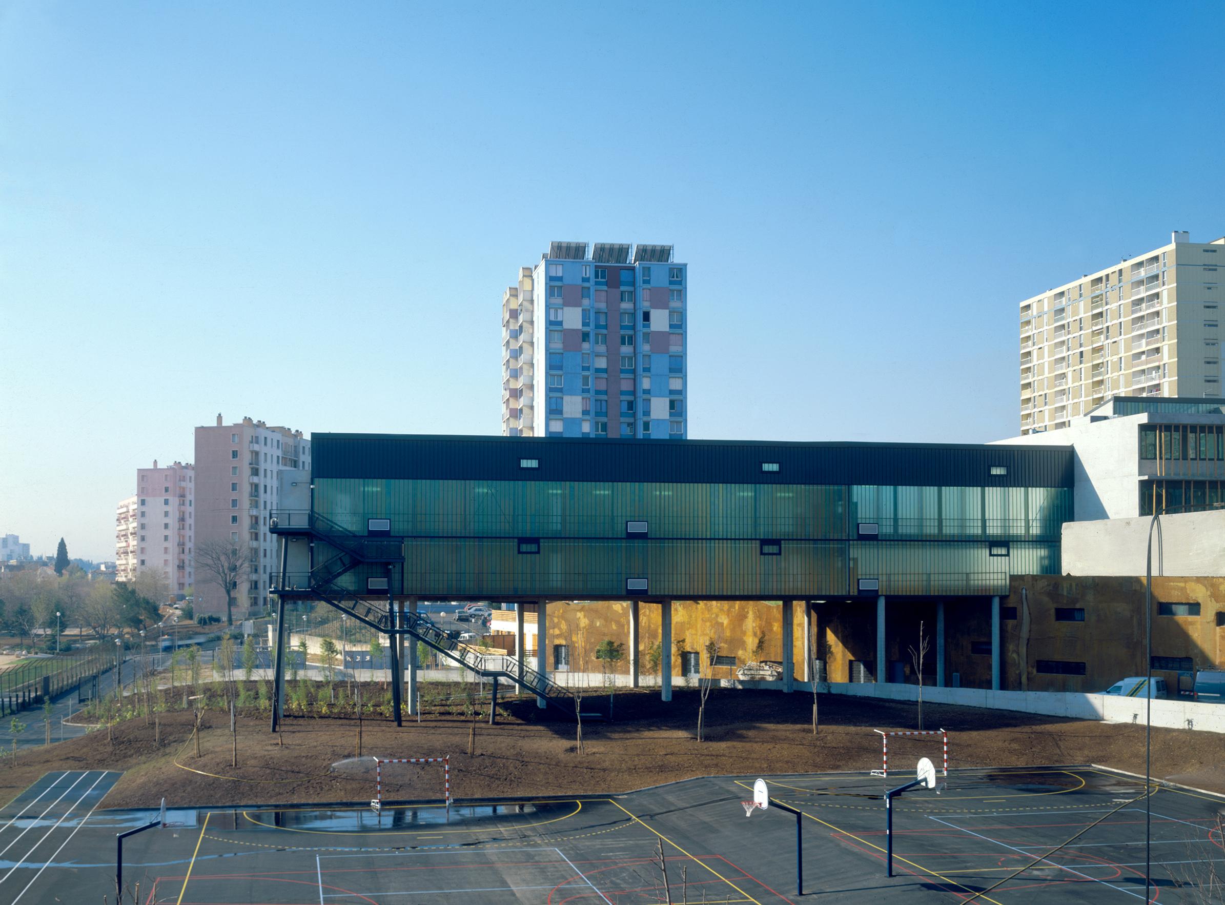 Collège Renoir Rostand 04 - Équipements Bureau - Caractère Spécial - Matthieu Poitevin Architecture