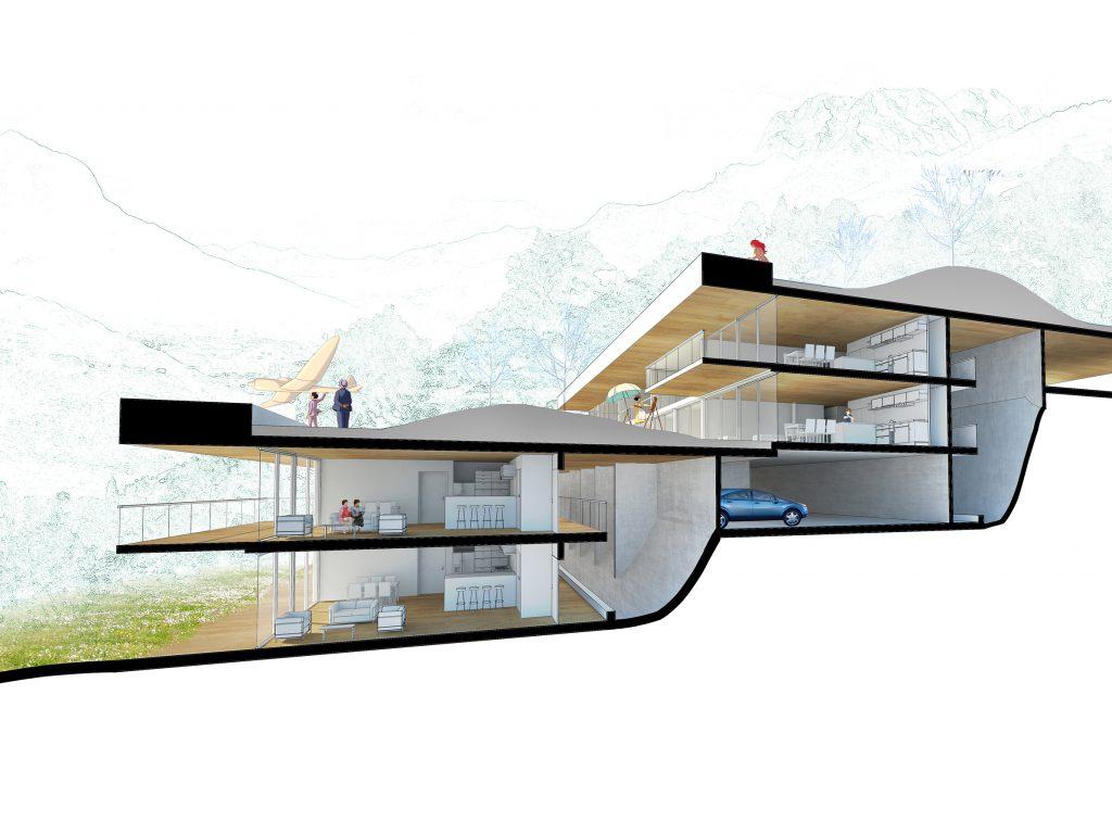 Croix du Frêne 03 - Logements - Caractère Spécial - Matthieu Poitevin Architecture