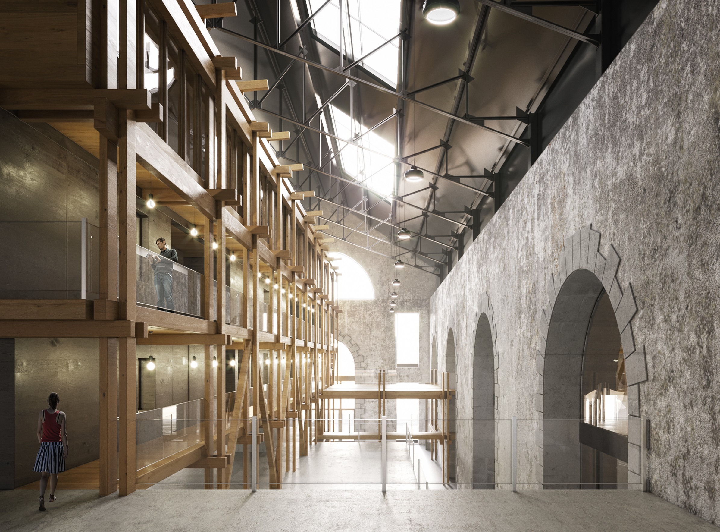 Le fourneau 01 - Friches + Culturel - Caractère Spécial - Matthieu poitevin Architecture