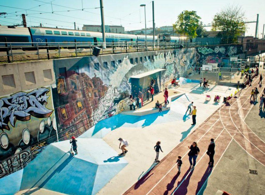 La Friche - Le Playground - main - Friches + Culturel - Caractère Spécial - Matthieu poitevin Architecture