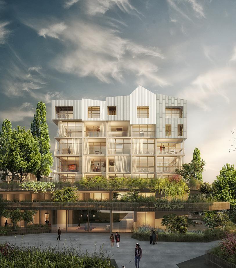 Le Rucher - main - Logements - Caractère Spécial - Matthieu Poitevin Architecture