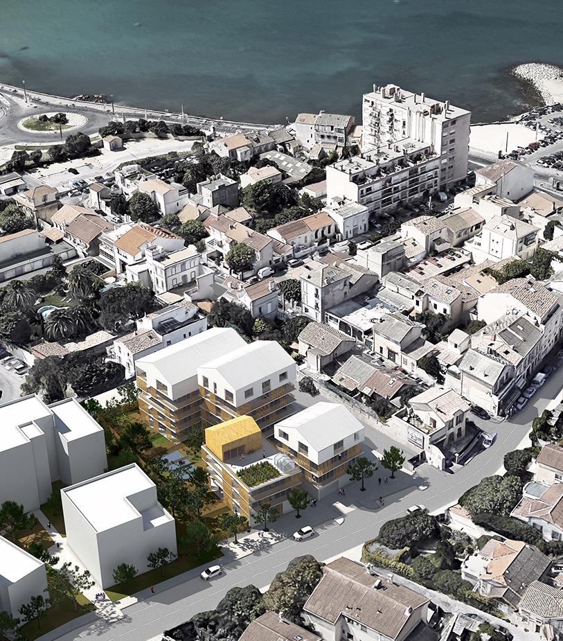 Les Grandes Maisons -main - Logements - Caractère Spécial - Matthieu Poitevin Architecture