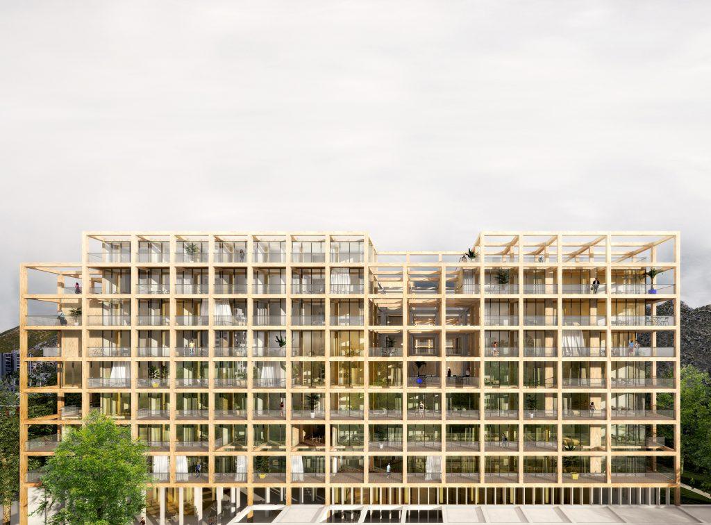 Résidence du Parc 01 - Logements - Caractère Spécial - Matthieu Poitevin Architecture