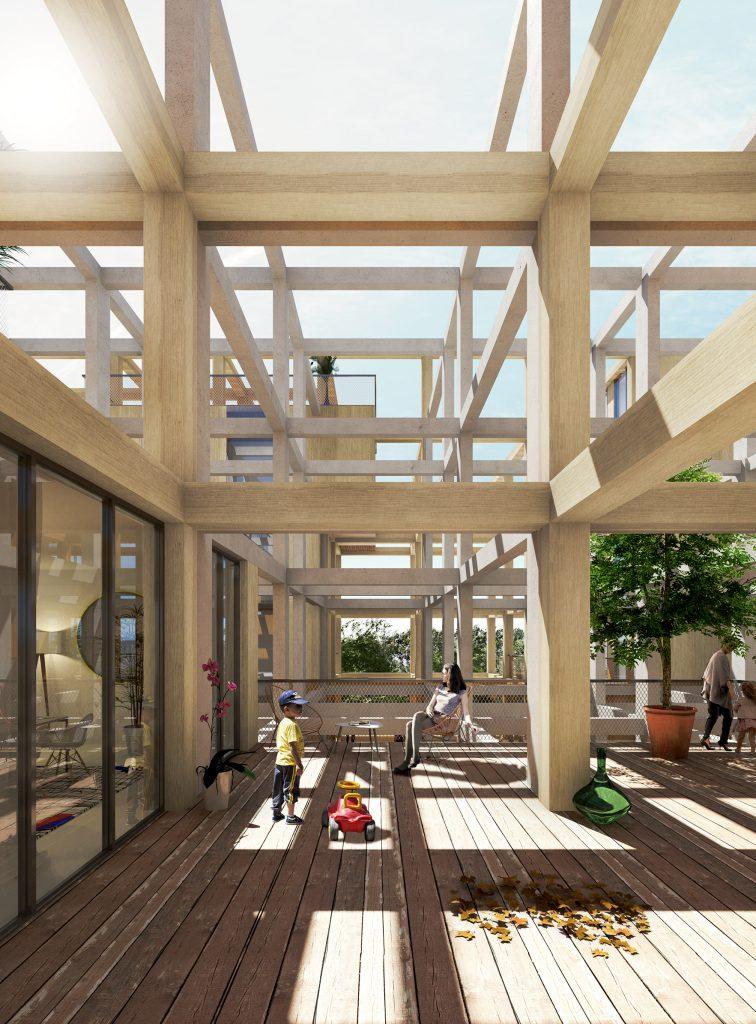 Résidence du Parc 03 - Logements - Caractère Spécial - Matthieu Poitevin Architecture