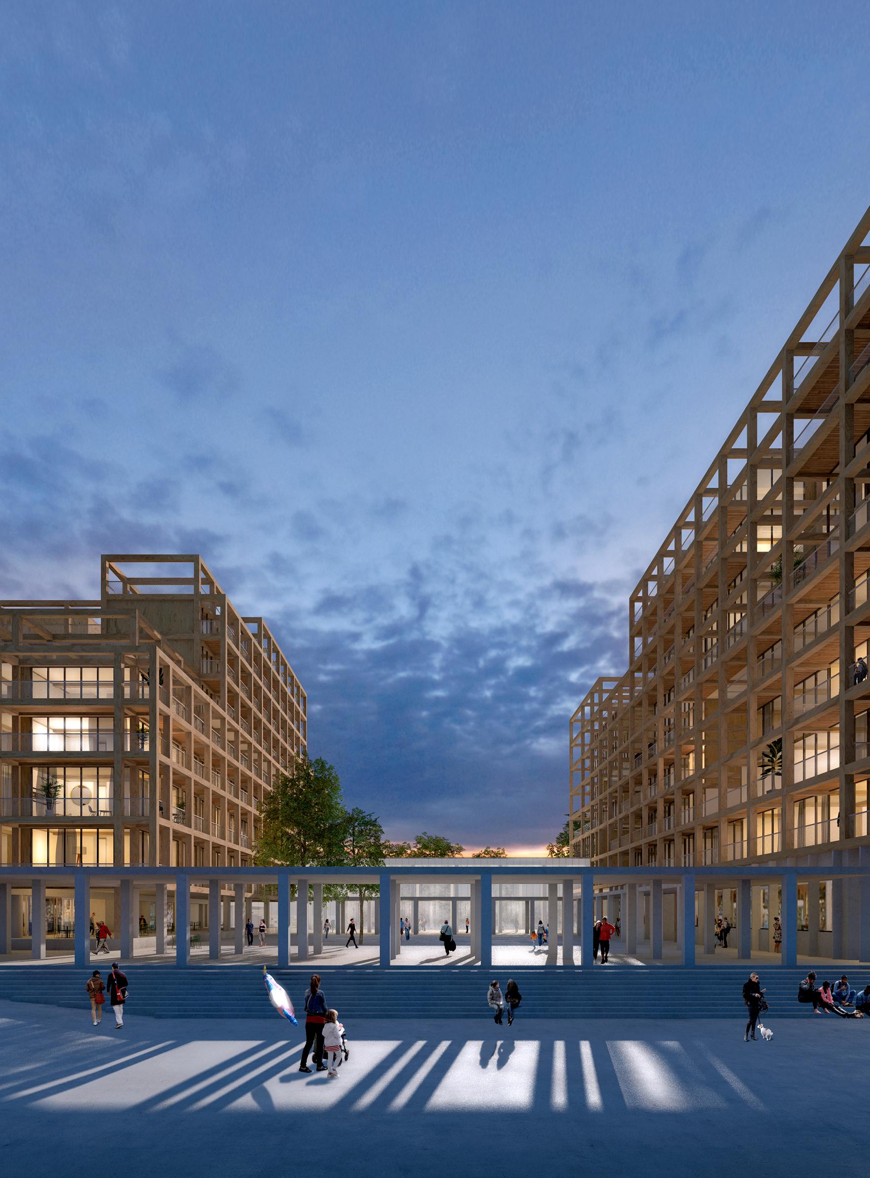Résidence du Parc 04 - Logements - Caractère Spécial - Matthieu Poitevin Architecture