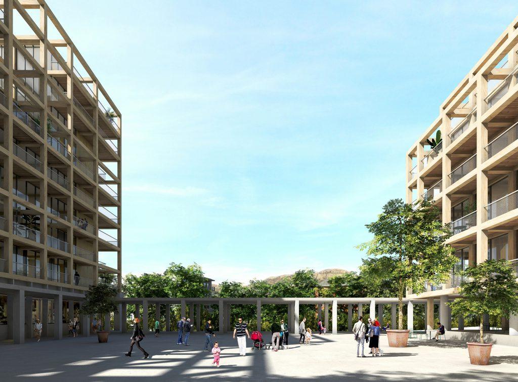 Résidence du Parc 05 - Logements - Caractère Spécial - Matthieu Poitevin Architecture