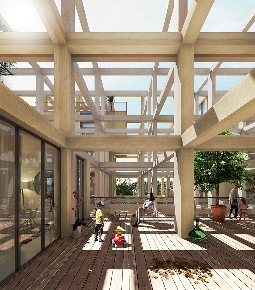Résidence du Parc - main - Logements - Caractère Spécial - Matthieu Poitevin Architecture