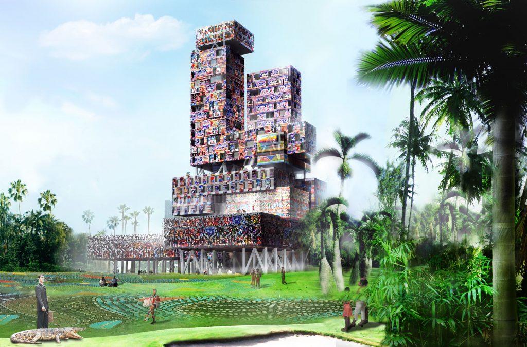 Tap Tap Tower à Haiti - Logements -Caractère Spécial - Matthieu Poitevin Architecture