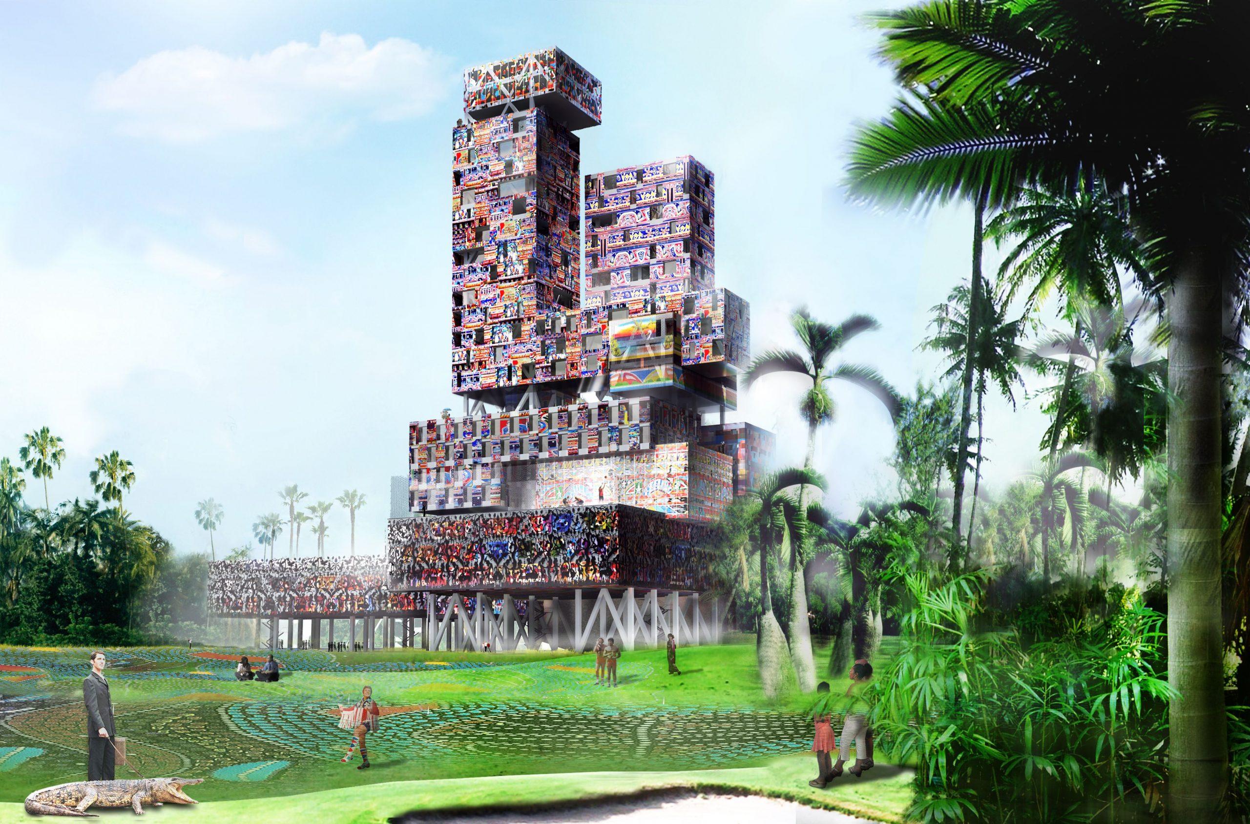 Tap Tap Tower à Haiti, Miami, USA - Matthieu Poitevin Architecture - Caractère Spécial