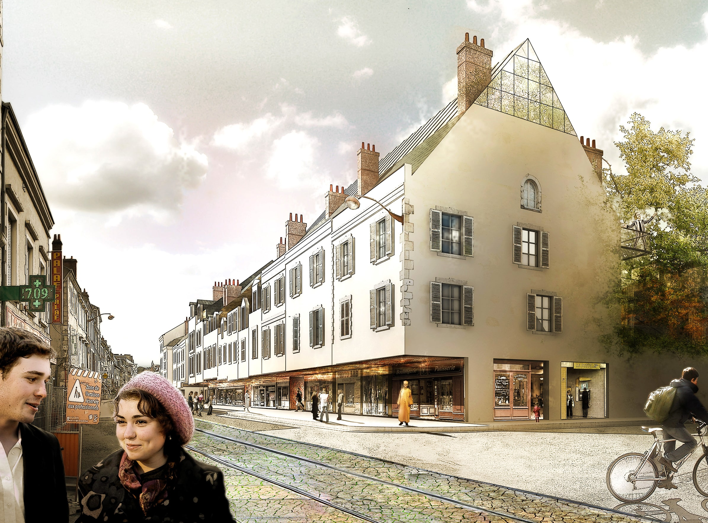 Nouvel Orléans - Caractère Spécial - équipements et Bureaux -  Matthieu Poitevin Architecture