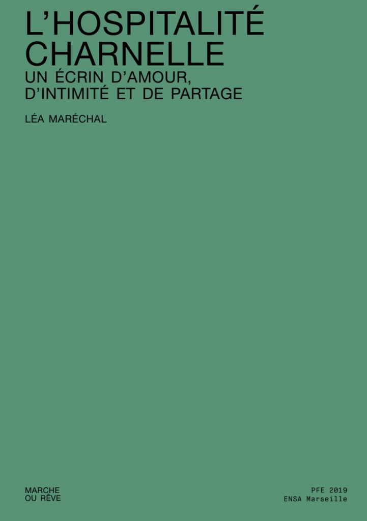 14+1 - Caractere special - Léa Maréchal - L'Hospitalité Charnelle